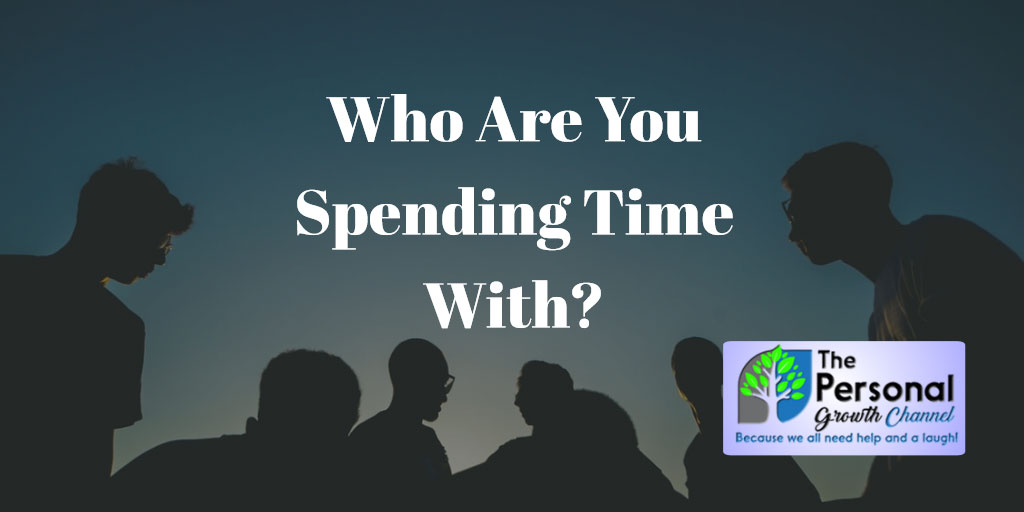 Who are you spending time with? Photo of personal development community.
