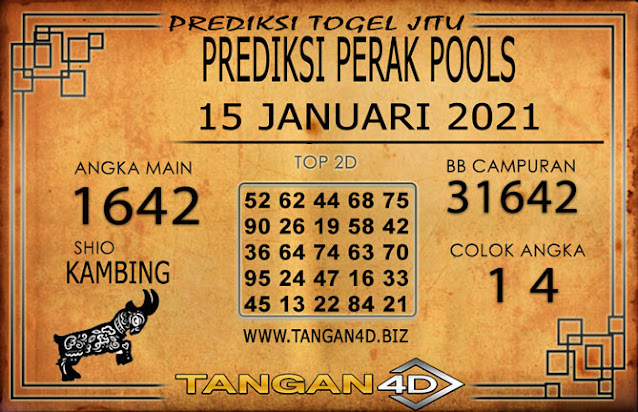 PREDIKSI TOGEL PERAK TANGAN4D 15 JANUARI 2021