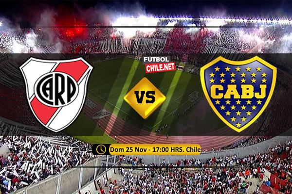 Mira River Plate vs Boca Juniors en vivo y online por la Final Vuelta de la Copa Libertadores