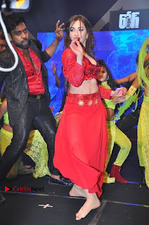 Telugu Actress Angela Krislinzki Spicy Dance Performance in Red Dress at Rogue Audio Launch 13 March 2017  0007.jpg