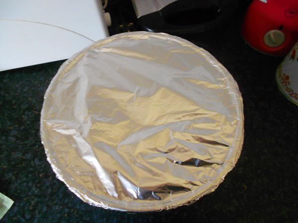 covered in foil and ready to brew!