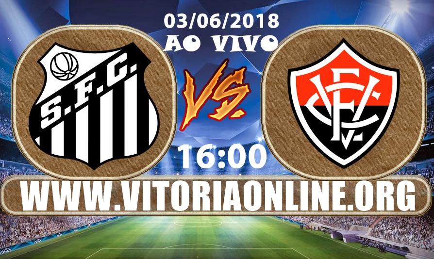 Santos x Vitória ao vivo HD pelo Campeonato Brasileiro 1