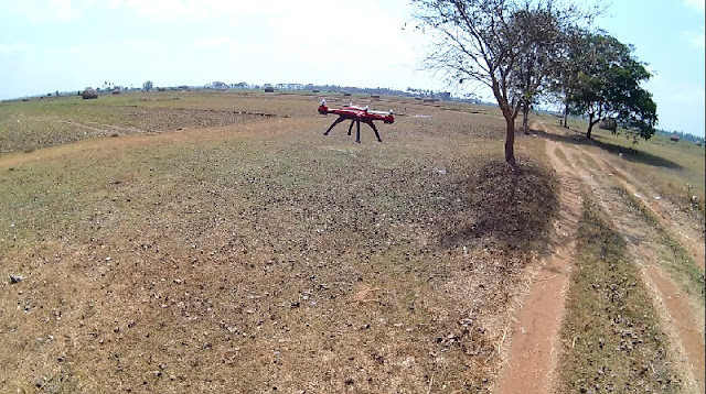 JJRC H25 Flying