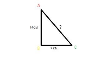 Contoh Soal Teorema Pythagoras no 3