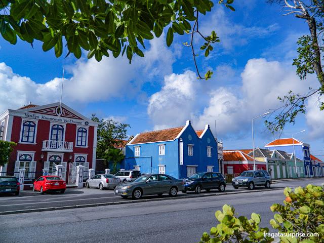 Casarões do Bairro de Pertermaai, Willemstad, Curaçao