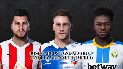PES 2021 Facepack La Liga SmartBank Vol 3 by Dani