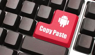 copy paste teks di hp smartphone tablet