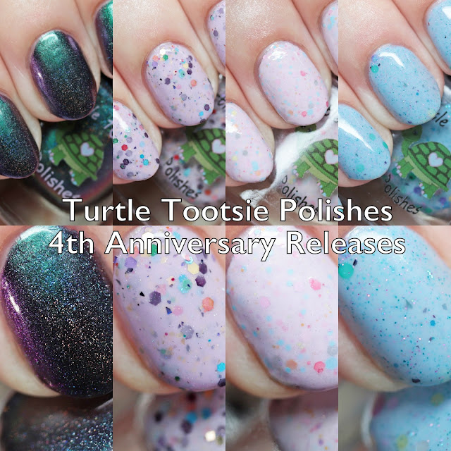 Turtle Tootsie Polishes 4th Anniversary Releases