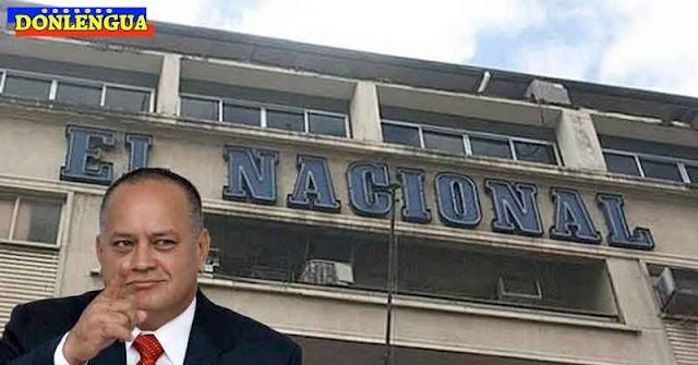 Diario El Nacional acosado por Diosdado pide aclaratoria al TSJ
