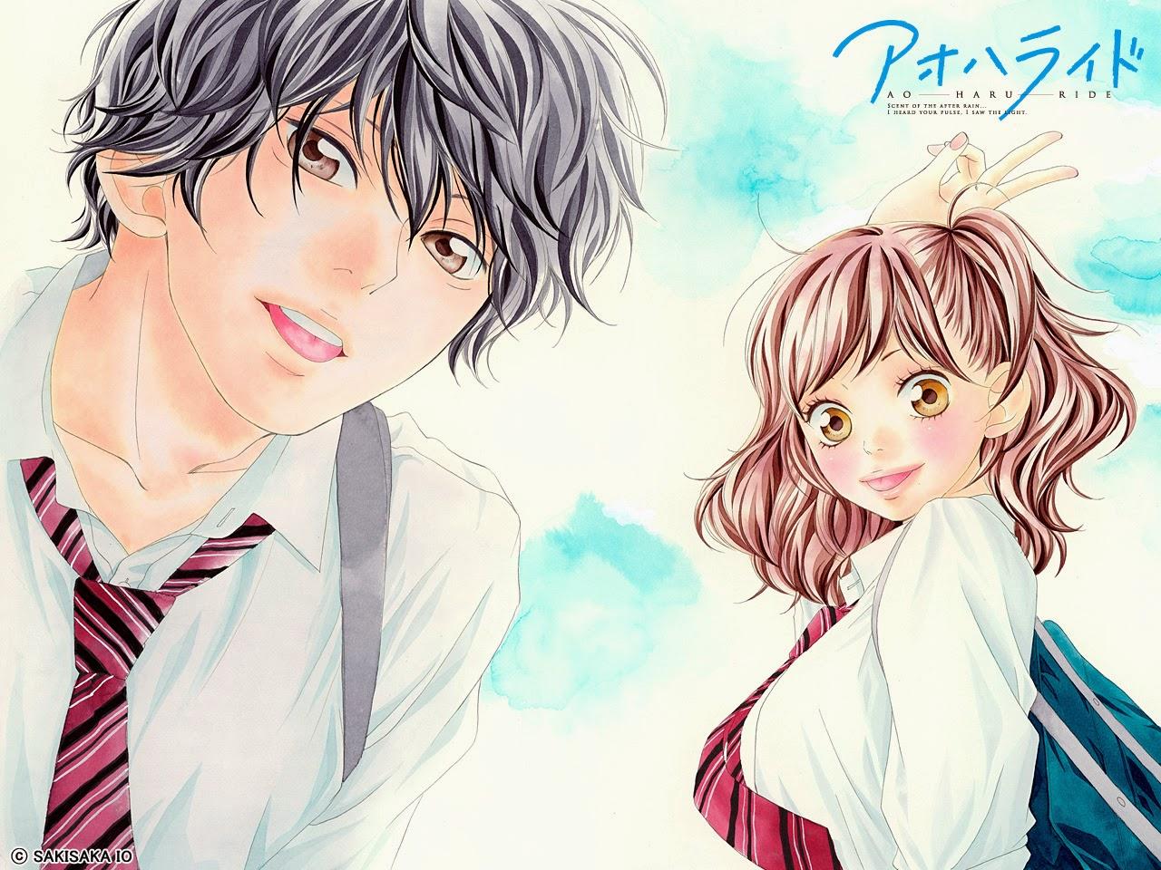 Manga And Anime Profile Ao Haru Ride The Journal Of Faridamutiaa
