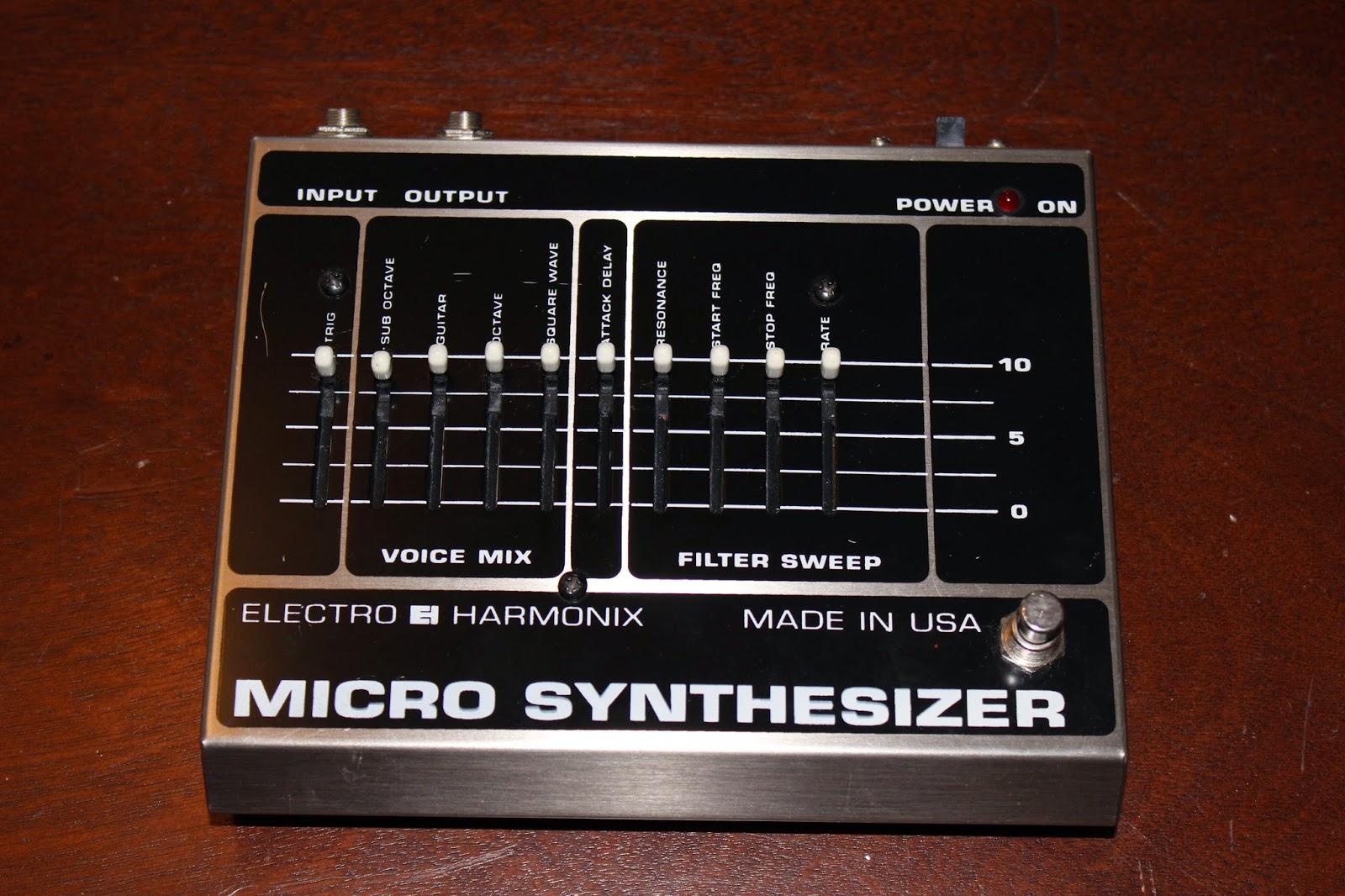 brad 39 s gear page electro harmonix micro synth. Black Bedroom Furniture Sets. Home Design Ideas