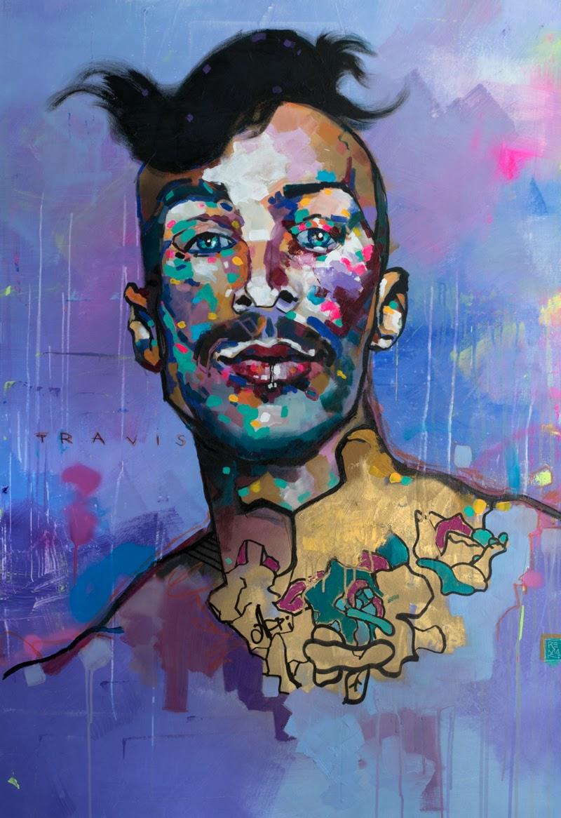 Portraits by Roman Gulman.