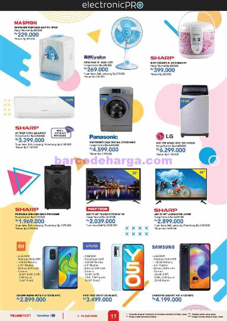 Katalog Promo Carrefour Elektronik 23 September 6 Oktober 2020 Barcodeharga Harga Promo Alfamart Indomaret Giant Hypermart Superindo Lottemart Carrefour