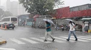 Onda tropical provocará lluvias este sábado en varias zonas del territorio dominicano