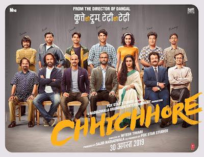 Film Chhichhore Movie India (2019) Sinopsis , Review, Rilis dan Daftar Pemain