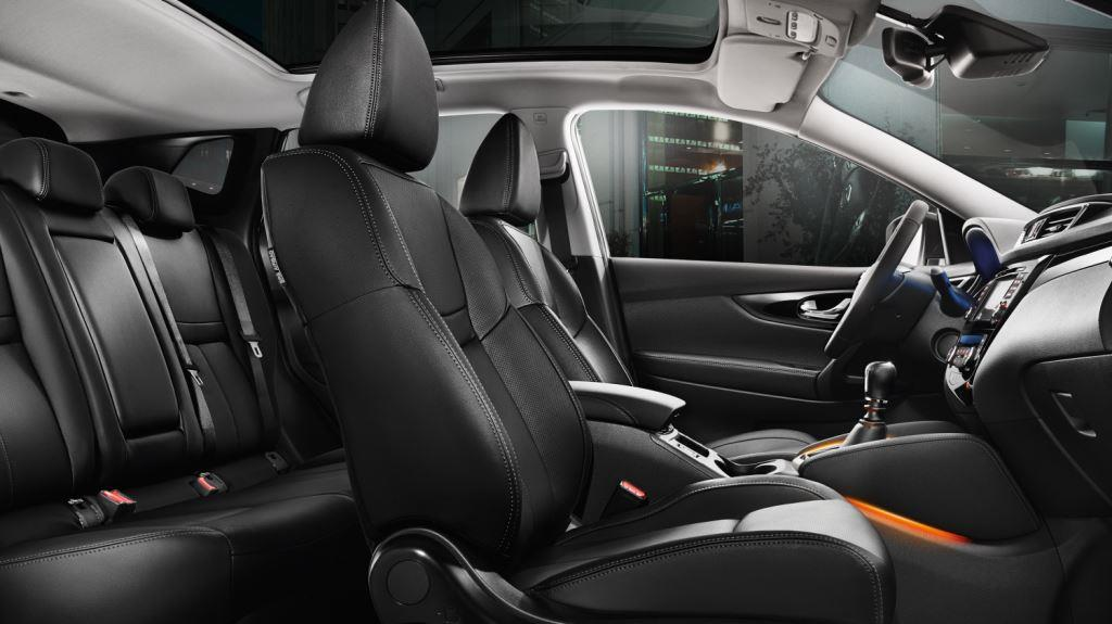 Dimensioni degli interni di Nissan Qashqai