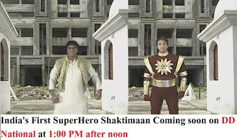 Shaktimaan TV channel Telecast Timing on DD Freedish