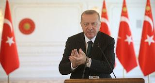 أردوغان: تم افتتاح 520 مصنعا جديدا حتى الآن هذا العام رغم تدابير كورونا