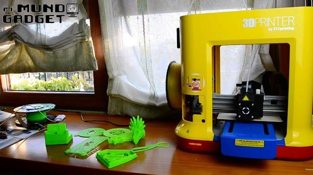 [Reseña] Analizamos la Da Vinci Mini Maker: impresora 3D para niños y jóvenes