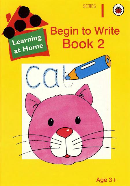 كتاب Begin to Write Book 2 لتعليم طفلك بدايات الكتابة باللغة الانجليزية ( تحميل مباشر )