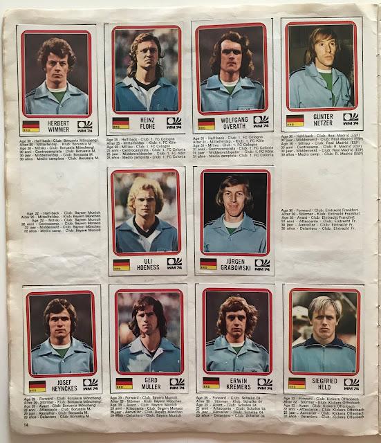 Figurine Germania Ovest Monaco 74