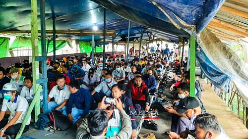 FSPMI Bekasi Konsolidasi Akbar Untuk Aksi 25 Agustus,
