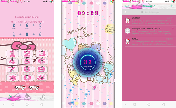 Oppo Theme: Oppo Hello Kitty and Tiny Chum Theme