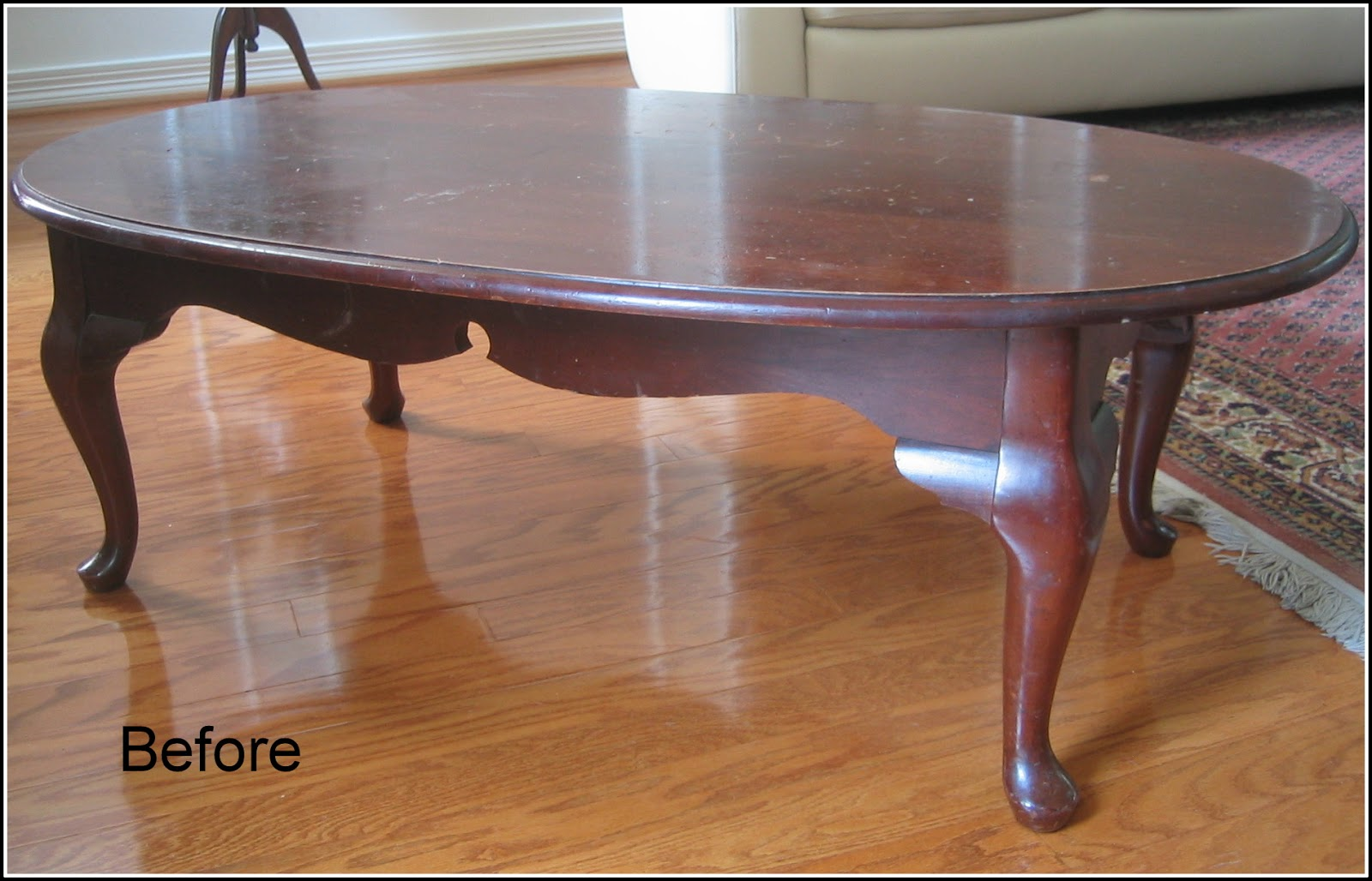 Just Judy : A coffee table makeover...Finally!