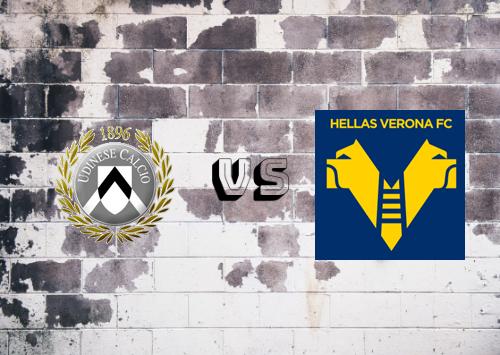 Udinese vs Hellas Verona  Resumen