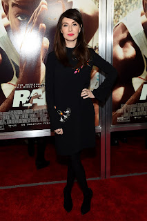 Game of Thrones actress Carice Van Houten at Race Screening in New York