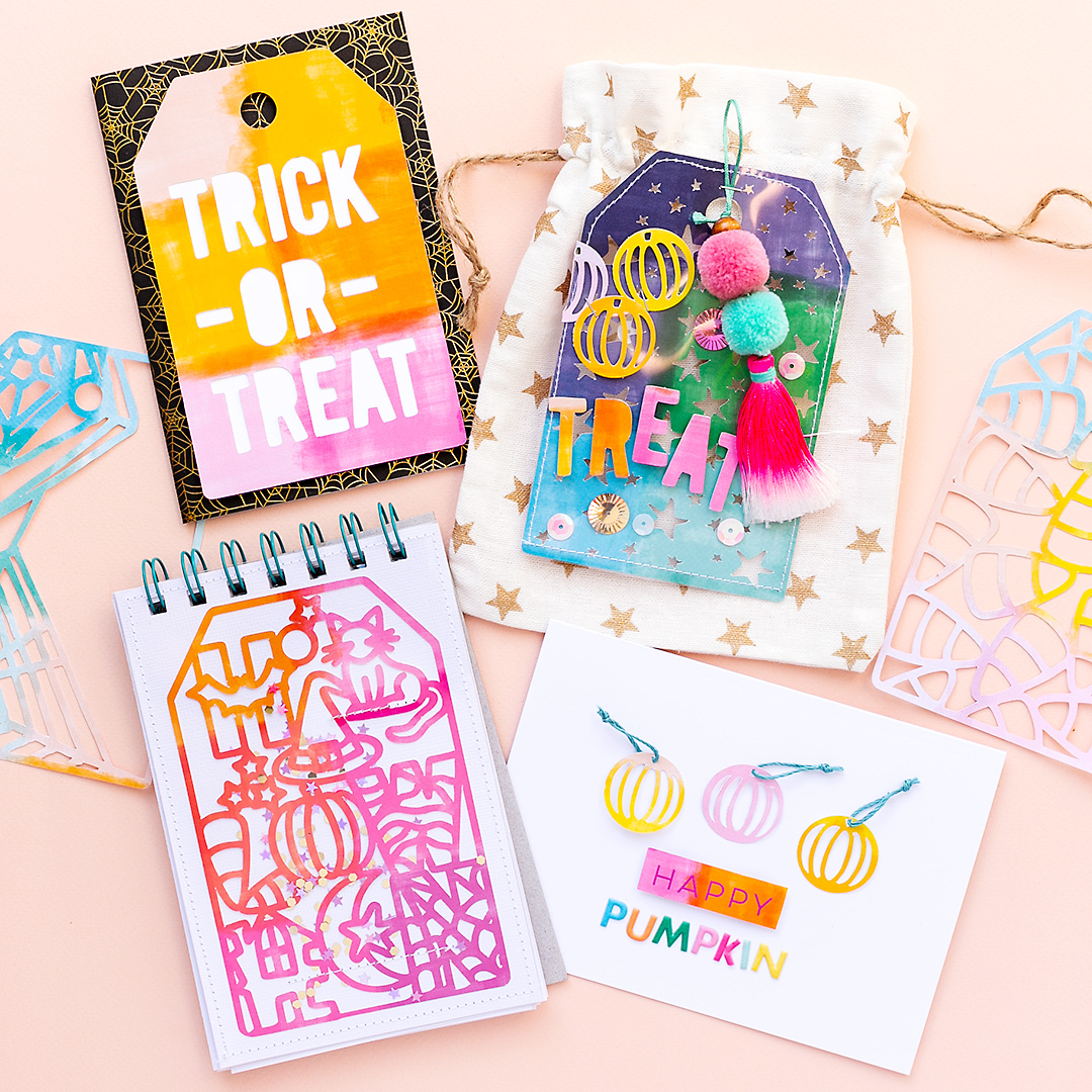 Halloween Gift inspiration with cutfiles