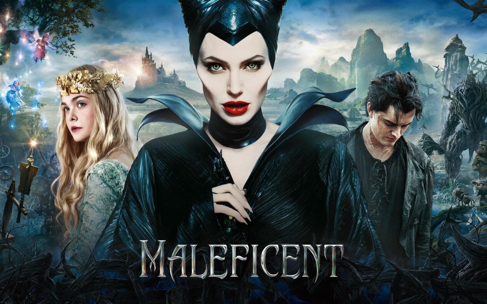 Movreaks Irine Jelika Maleficent 2014