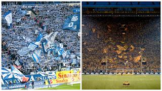 رابطة كرة القدم الألمانية : الدوري الألماني يستأنف بديربي الرور في 16 أيار