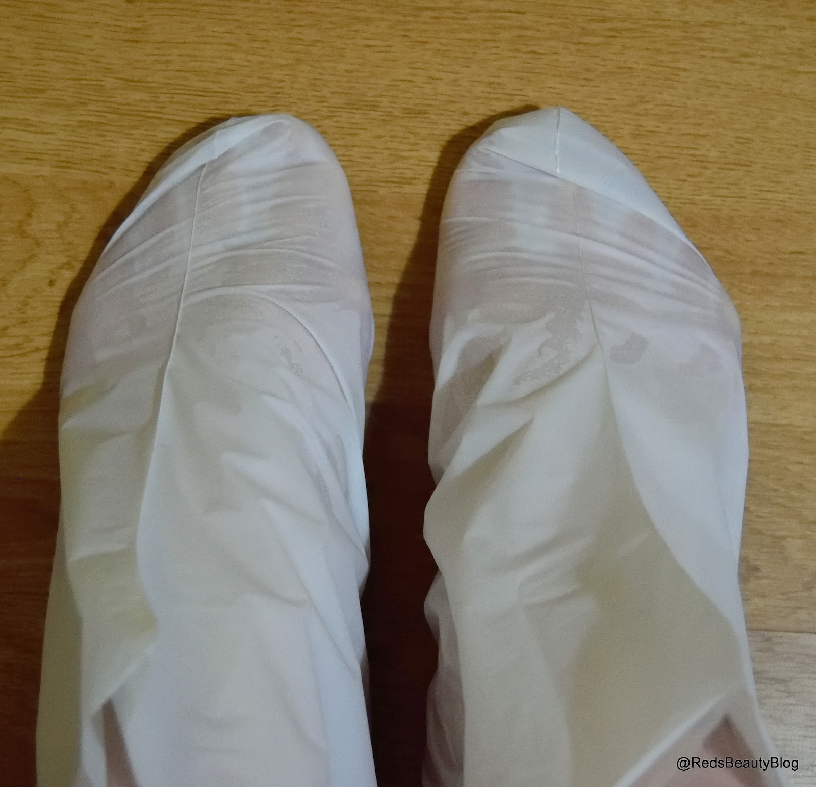 A picture of Holika Holika Silky Foot Mask Sheet booties