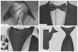 Different types of a necktie and easy step by step tutorial for tieing them