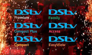 DStv Premium; DStv Compact Plus; DStv Compact; DStv Family; DStv Access; DStv EasyView