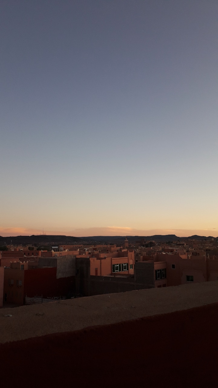 sunset-Ouarzazate