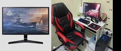 monitor pc paling ekonomis untuk game dan editing kerja kantor