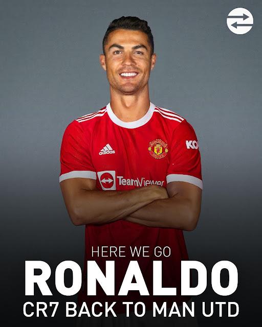 Cristiano Ronaldo to Manchester United