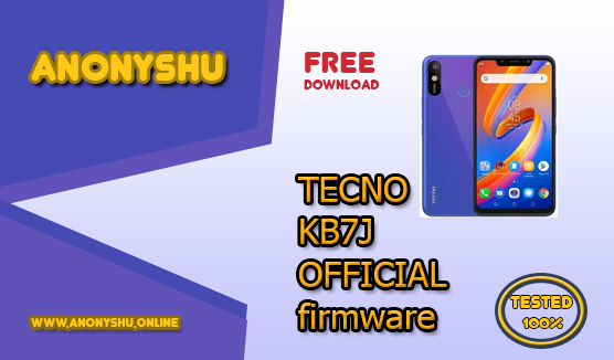 TECNO SPARK 3 KB7J FIRMWARE (OFFICIAL) STOCK ROM FLASH FILE FIX ROM