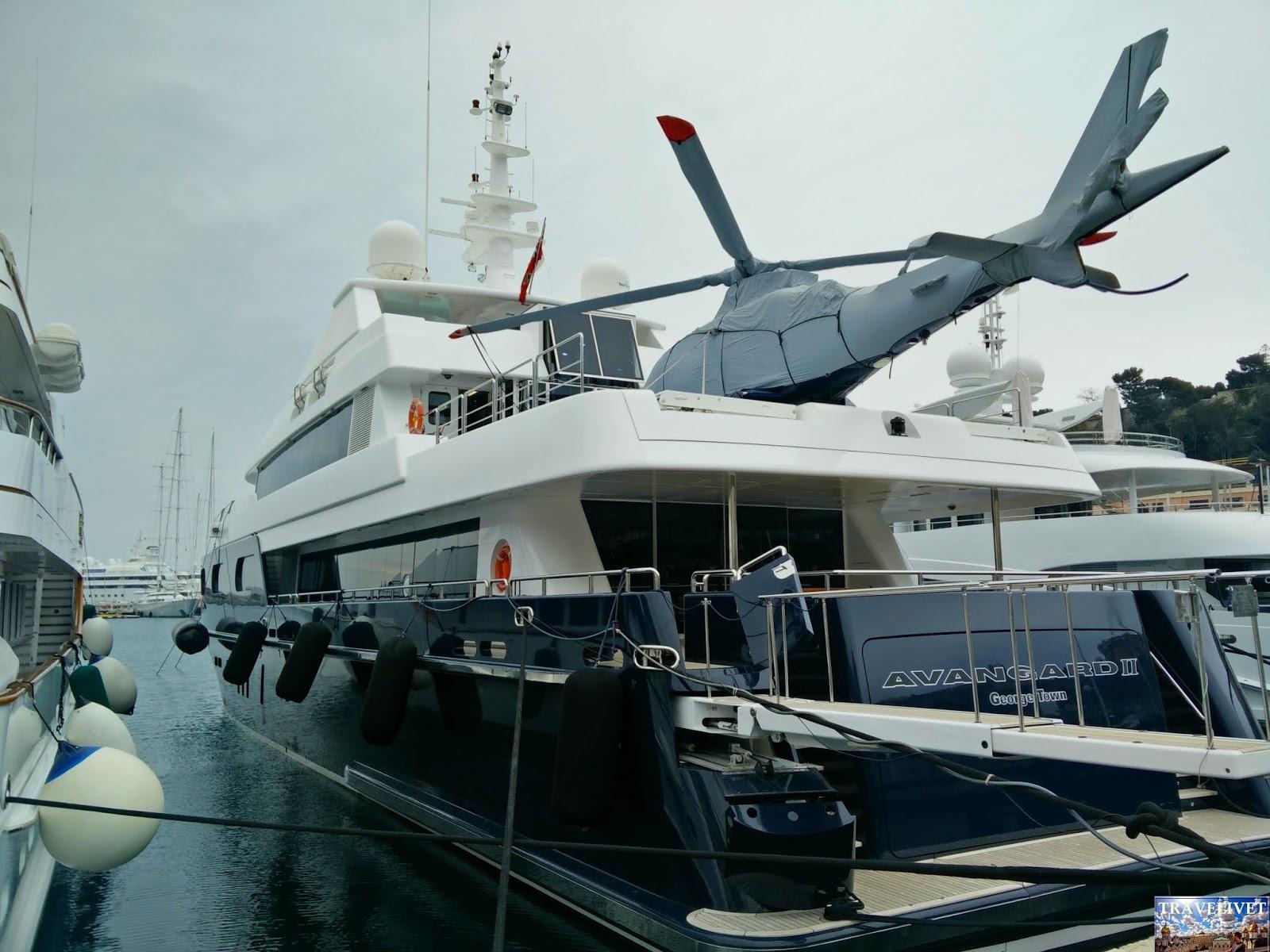Monaco hélicoptère bateau yacht