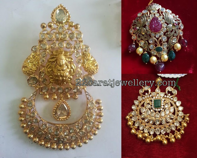 Pachi Pendant Sets with Antique Work