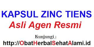 Jual khasiat manfaat KAPSUL ZINC TIENS asli Agen resmi