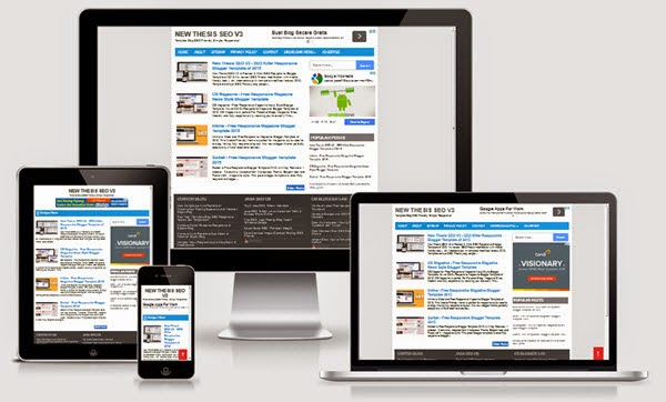New Thesis SEO V3 Responsive Fast Loading Blogger Template
