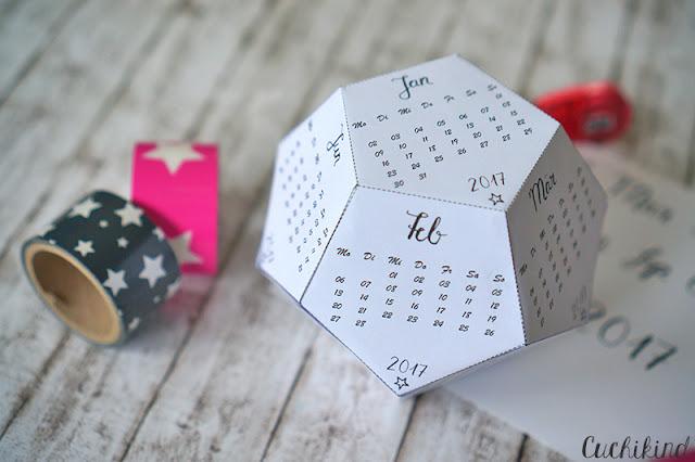Kalender 2017 printable