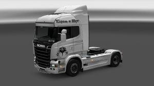 Nirvana skin for Scania Streamline