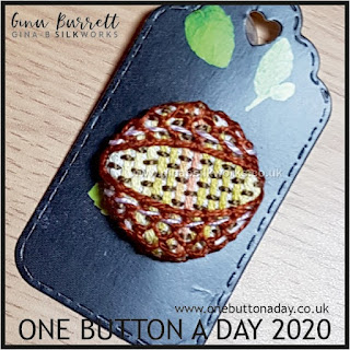 One Button a Day 2020 by Gina Barrett - Day 80: Kernel