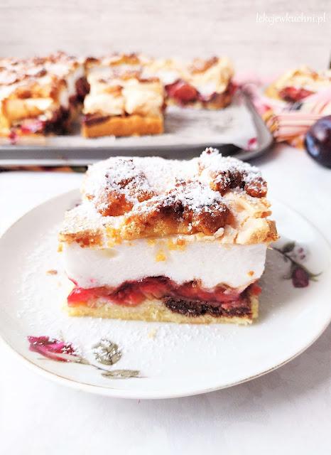 Ciasto Pleśniak ze śliwkami przepis