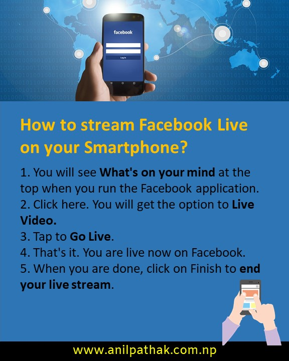 How to stream Facebook Live on your Smartphone?