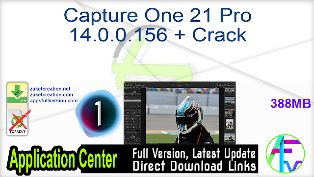 Capture One 21 Pro 14.0.0.156 + Crack